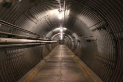 Tunnel in the Diefenbunker